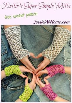 Crochet Fingerless Gloves ~ 12 FREE Crochet Patterns