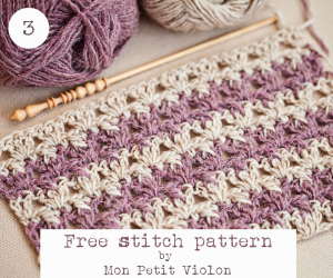 TUTORIAL TUESDAY - NEW STITCH WITH MON PETIT VIOLON @countrywillow12
