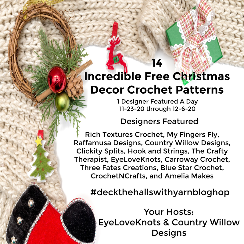 deck the halls with yarn blog hop