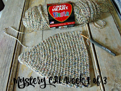 Mystery CAL Part 1 of Designers Potpourri CAL @countrywillow12