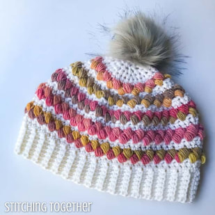 Camellia Crochet Women's Hat from Stitching Together