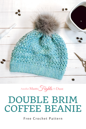 Double Brim Coffee Beanie from Another Mum Bites The Dust