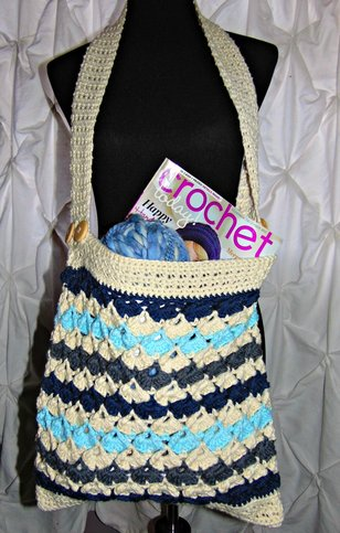 CROCHET ARIANNA PROJECT OR TOTE BAG