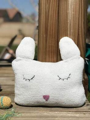Velveteen Rabbit Pillow from Desert Blossom Crafts